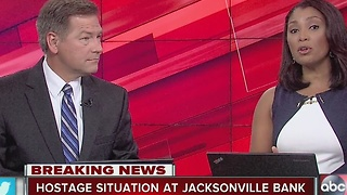 Hostage situation at Jacksonville bank - Video