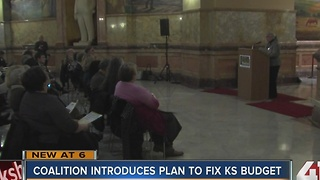 Kansas coalition hopes tax hike will fix budget - Video