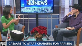 John Katsilometes talks Caesars parking