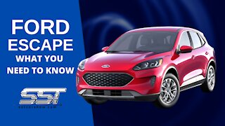 FORD ESCAPE: EVERYTHING YOU NEED TO KNOW