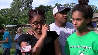 Family speaks after home collapses into sinkhole in Land O' Lakes neighborhood - Video