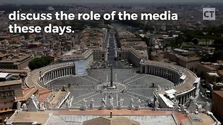 "Pope Calls Out New ""Sin"" for Media - Video"