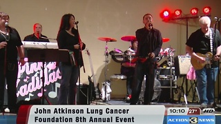 John Atkinson Lung Cancer Foundation raises money for student scholarships - Video