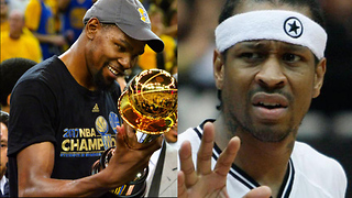 Kevin Durant Says Kyrie Irving is BETTER Than Allen Iverson - Video
