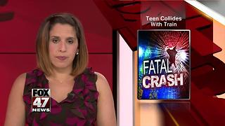 Western Michigan girl, 17, dies after train hits her car - Video