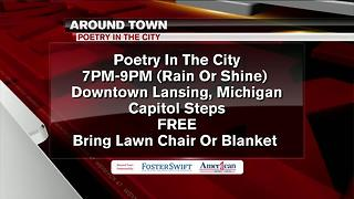 Around Town 7/19/17: Poetry in the City - Video