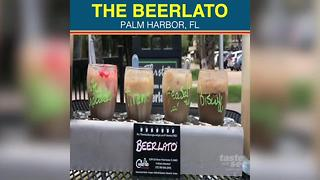 Beer & gelato? The adult dessert 'Beerlato' is a must-have in Palm Harbor - Video