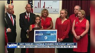 A win for the families of Flight 3407 ahead of FAA reauthorization - Video