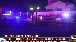 Scottsdale police investigating officer involved shooting at park