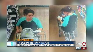 Woman scams Wal-Mart with receipt she found - Video