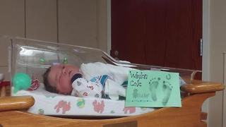 16 pound baby born to Brownstown woman - Video