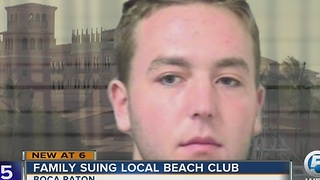Family sues Boca Beach Club, claims man solicited 12-year-old daughter for sex - Video