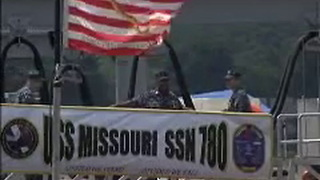 USS Missouri SSN 780 - Video