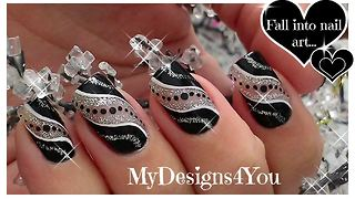The only party design nail art you'll ever need! - Video