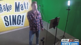 Local comedian creates songs by suggestions, broadcasts it  on Facebook - Video