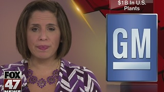 GM to invest $1B in U.S. plants - Video