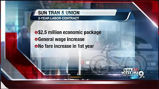 Sun Tran Update: Teamsters vote yes to new 3-year labor contract - Video