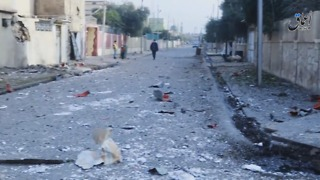 Islamic State Video Said to Show Aftermath of US Airstrikes in E. Mosul - Video