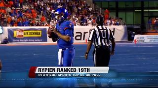 Brett Rypien ranked 19th QB in National Poll - Video