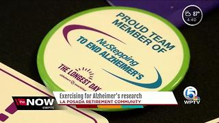LaPosada Alzheimer's fundraiser - Video