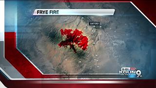 Containment increasing for Frye Fire near Safford - Video