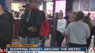 Shopping frenzy around the KC metro - Video