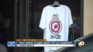 Fight grows to keep target out of Ocean Beach - Video