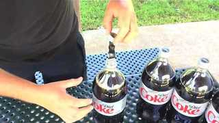 Famous Diet Coke and Mentos Video Recreated After 10 Years With Glorious Results