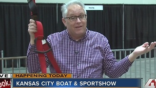 Kansas City Boat & Sportshow opens Thursday - Video