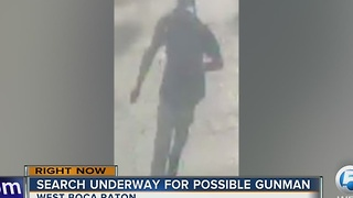 Gunman attempts two robberies in suburban Boca Raton - Video
