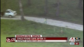 Child found safe after taken in stolen car - Video