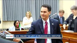 Politifact: Gov. Walker's property tax claims - Video