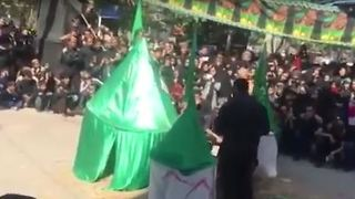 Mourning in Muharram - Iran 2016 - Video