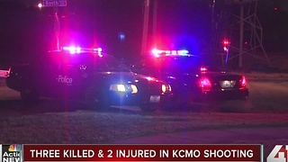 Three people killed, one child and one adult injured in KCMO shooting - Video