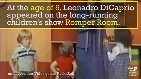 Was Leonardo DiCaprio Fired from Romper Room? Maybe Kind Of...
