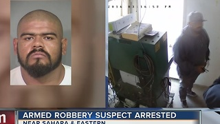Man who allegedly robbed smog technician arrested - Video
