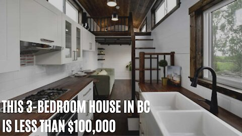 This Tiny 3-Bedroom House In BC Is Less Than $100,000 & You Can Take It On The Road