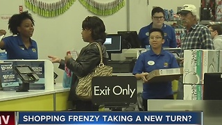 Shorter lines at Las Vegas valley stores as Black Friday approaches - Video
