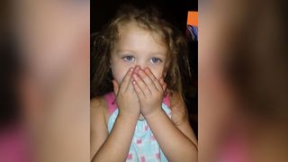 Little Girl Gets Busted For Watching The Walking Dead - Video