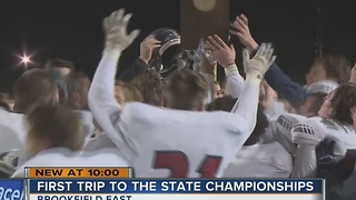 Brookfield East to play in state championship Friday night - Video