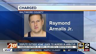 Arbutus man arrested after fatally shooting man - Video