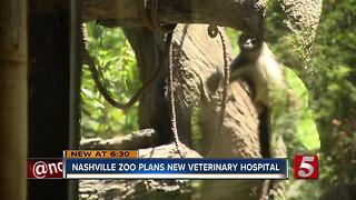 Nashville Zoo To Build $13M Veterinary Hospital - Video