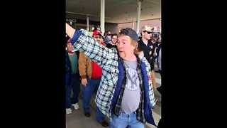 'Go to Auschwitz,' Man at Trump Rally Tells Protesters - Video