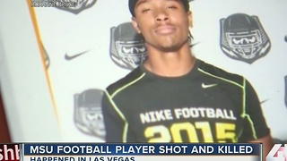 Missouri State freshman football player shot and killed in Las Vegas - Video