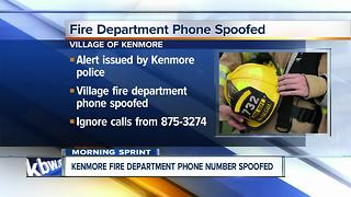 Scammers may be using Kenmore Fire Dept. number - Video