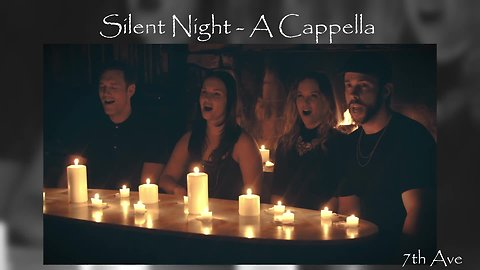 7th Ave Band beautifully sings 'Silent Night' a cappella