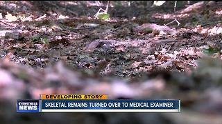 Skeletal remains turned over to medical examiner - Video
