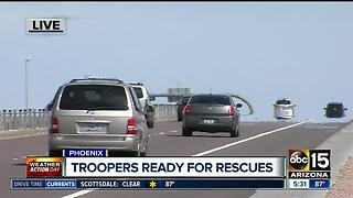 DPS Roadside Assistance Units ready for hot days - Video