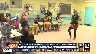 4th annual Kwanzaa celebration held in West Baltimore - Video