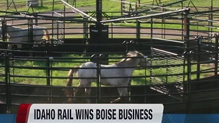 Idaho railways win Boise business from Priefert cattle, ranch and farm equipment manufacturer - Video